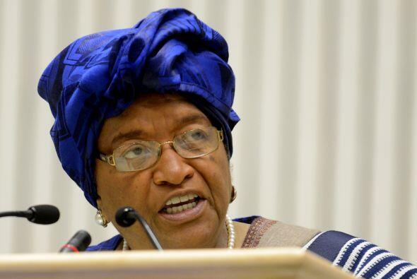 70.- ELLEN JOHNSON-SIRLEAF. La presidenta de Liberia es la primera mujer...