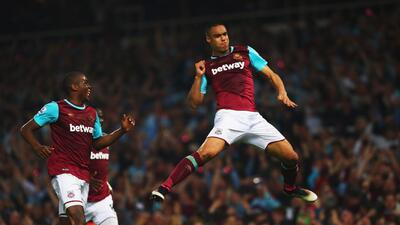 West Ham se impuso al Manchester United.