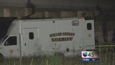 Hallan restos humanos en condado Waller