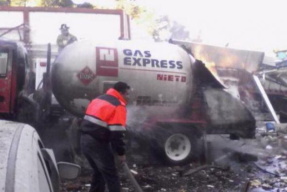 Un camión cisterna abastecía de gas la cocina del Hospital Materno Infan...