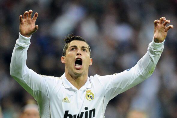 Cristiano parece decidido a ser el mejor de la Champions.