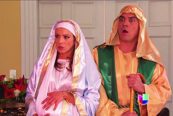 No se asusten Ana y Fernando, bueno, mejor dicho... María y José porque...