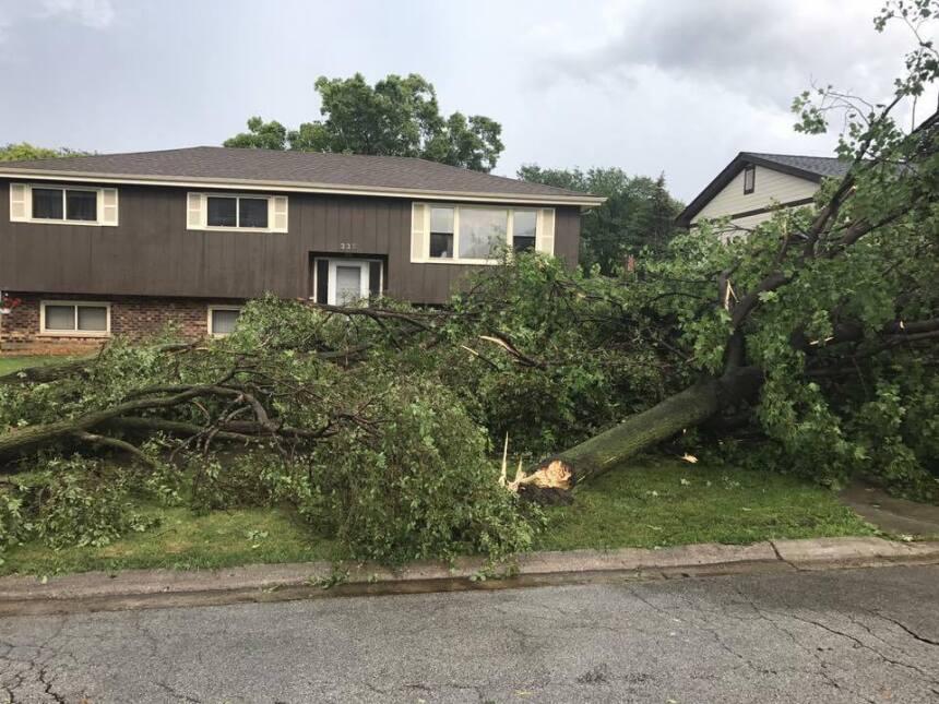 Usuarios de Univision Chicago comparten sus fotos de las tormentas regis...