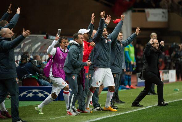 Mónaco sufrió de más para lograr un pase que se consumó gracias a los go...