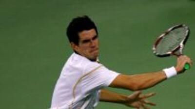 García-López se recuperó durante el partido tras haber perdido el primer...