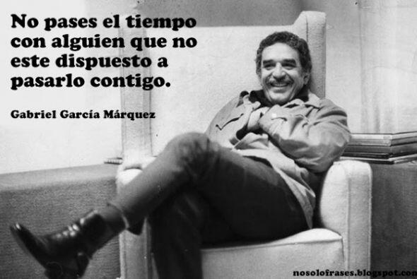 Falleció el premio nobel de literatura Colombiana Gabriel Garcia...