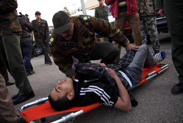 La cifra de heridos sube y los hospitales siguen recibiendo personas con...