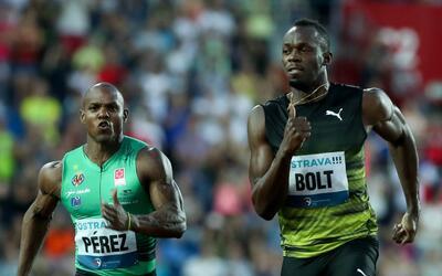 Usain Bolt dominó la competencia en la República Checa.