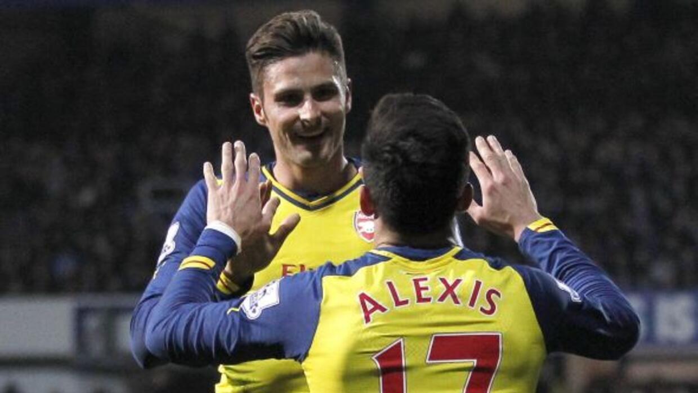 Los Gunners son terceros de la Premier League.