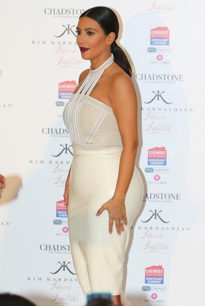 Pero, durante su visita a Australia hemos notado que la figura de Kim lu...