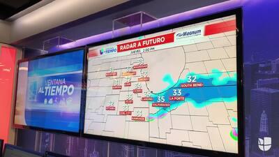 Ventana al tiempo: Con 30 grados Fahrenheit a lo largo del día, tenemos posibilidad de nieve