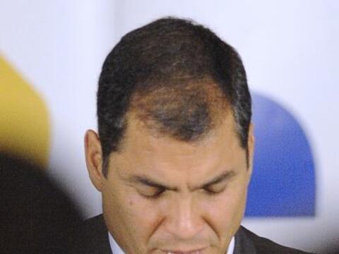 El presidente Rafael Correa pareció salir fortalecido despu&eacut...
