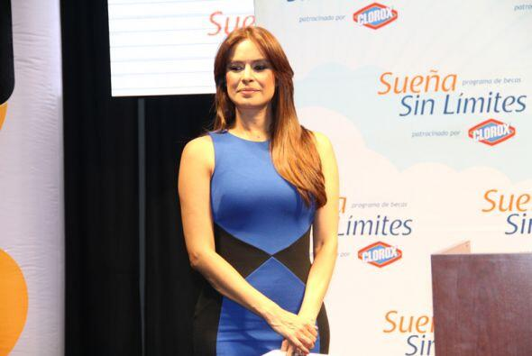 La gran presentadora Galilea Montijo.