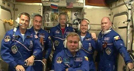 Estos son los seis tripulantes de la ISS. Pero no todos comparten sus fo...