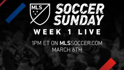 MLS Soccer Sunday Show