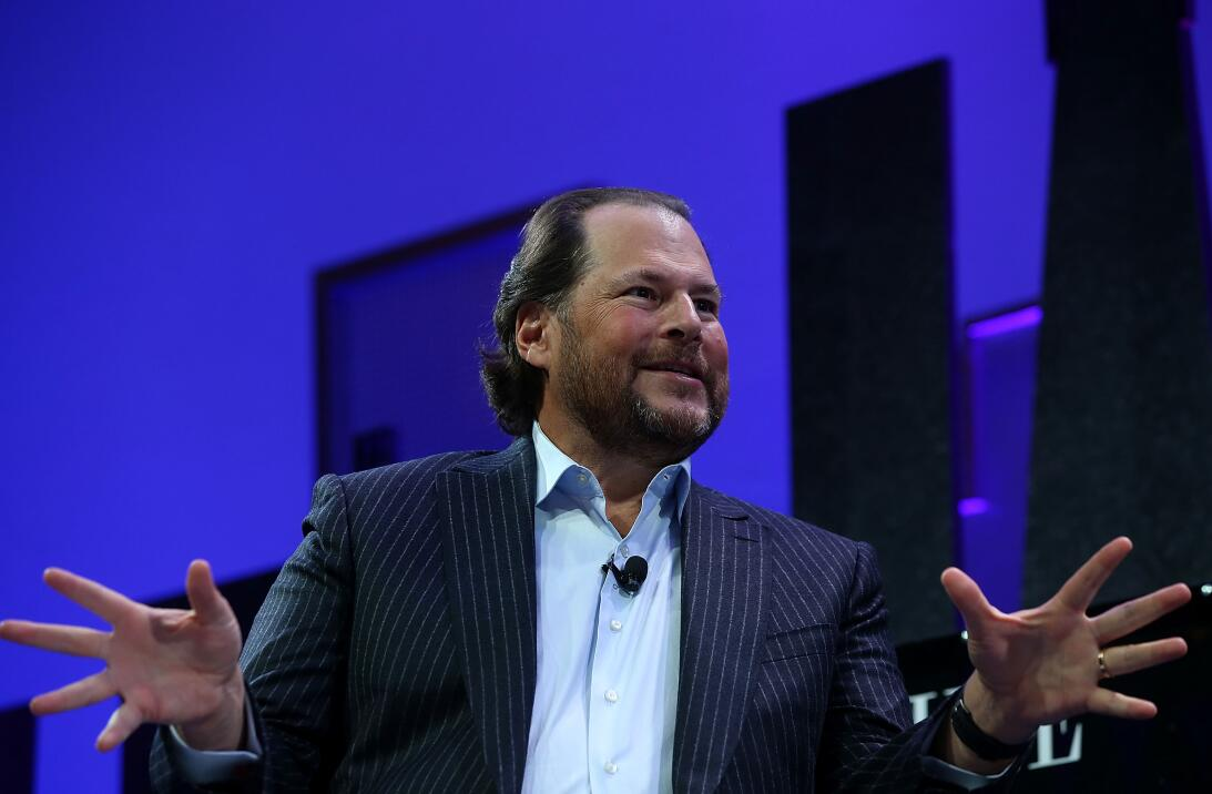 19- Marc Benioff - Salesforce.com.