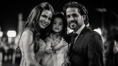 Parecía una boda: las fotos más tiernas de Ana Patricia Gámez con  su familia en la alfombra de Premio Lo Nuestro
