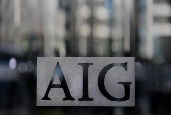 $69,900 MILLONES- La compañía de seguros AIG vio cómo sus ventas se incr...
