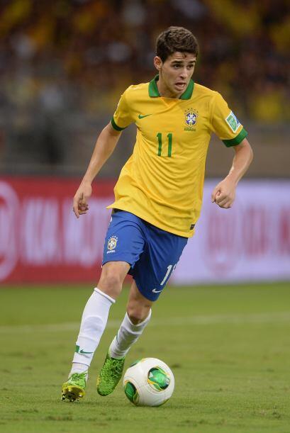 Dicen que el más carita y bello de Brasil es Oscar dos Santos...  Aquí l...