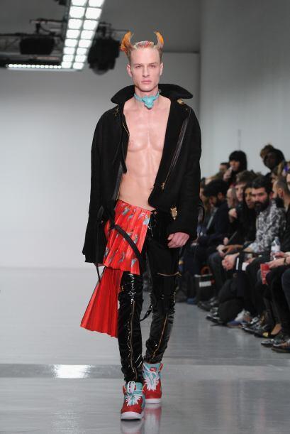 Los pantalones de cuero y de materiales sintéticos, lograron captar la a...
