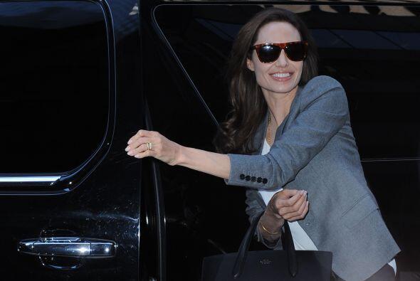 Pero qué presumida se ha vuelto la actriz, Angelina Jolie.