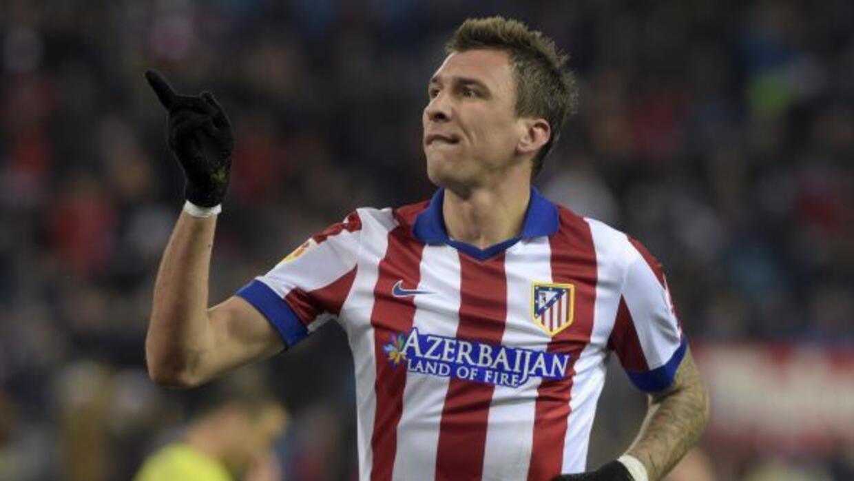 El delantero croata anotó los dos goles del Atlético en el duelo de la C...
