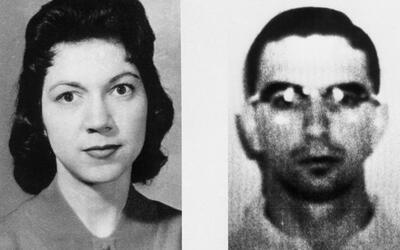 La víctima y el acusado en 1960.