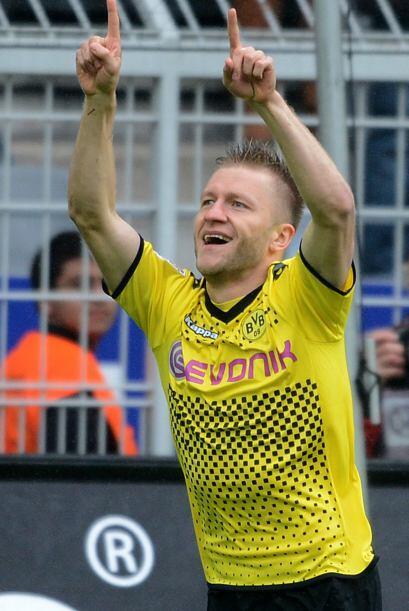 El volante del Borussia Dortmund ha sido un jugador sorprendente y con gol.