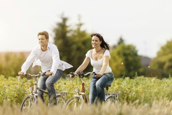 Si puedes y el tiempo lo permite, sal a un sitio natural y haz ejercicio...