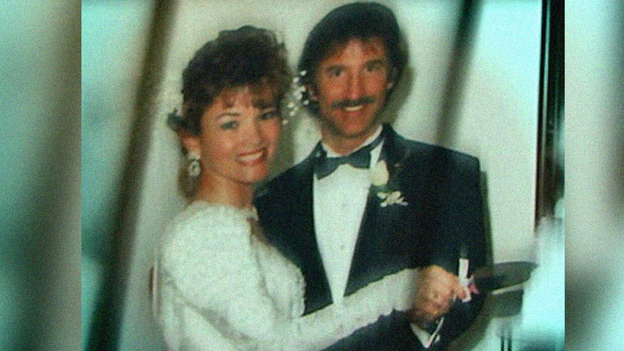 David y Clara Harris se casaron el 14 de febrero de 1993