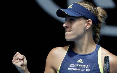 Angelique Kerber es la única ganadora de un Grand Slam que sigue...