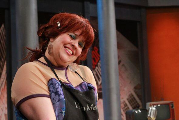 """En el papel de """"La Maquillista"""" del show, Judith consentirá al conductor..."""