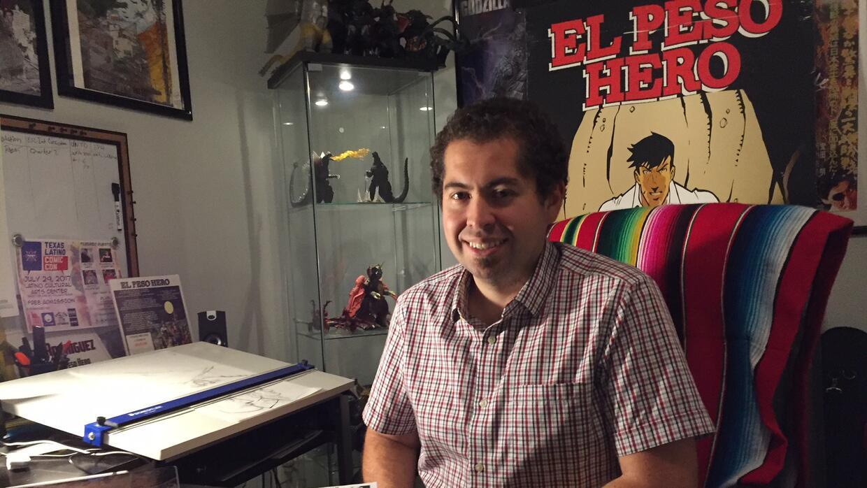 Héctor Rodríguez, un maestro de quinto grado, creó el personaje porque q...