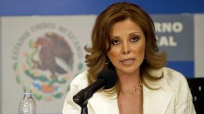 La titular de la fiscalía mexicana, Marisela Morales.