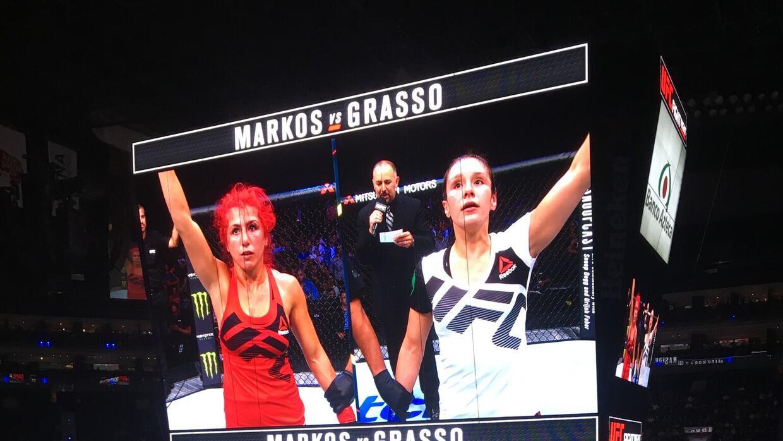 Markos vs Grasso.