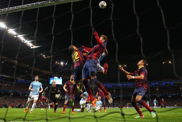 Esta fue la que puso al Barcelona en más apuros.
