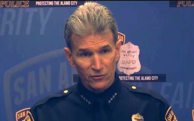 El jefe de la Policía de San Antonio, William McManus.