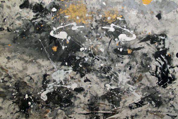 Al principio las pinturas fueron algo que causó revuelo por lo innovador...