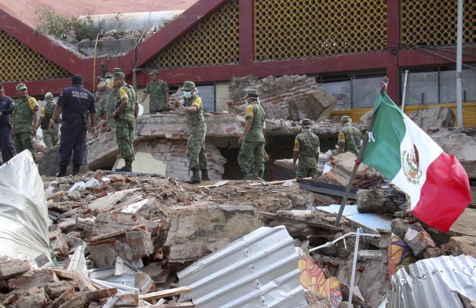 Un día después del sismo