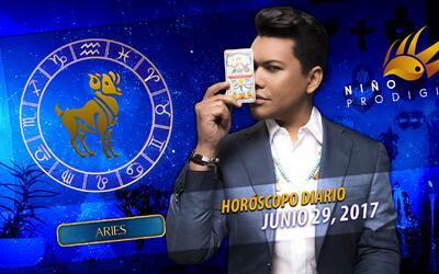 Niño Prodigio - Aries 29 de junio 2017