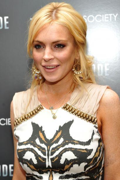 Después de que Lindsay Lohan fue capturada por las cámaras tirada en el...