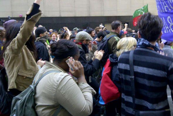 Protestas en Chicago OTAN, dia 2