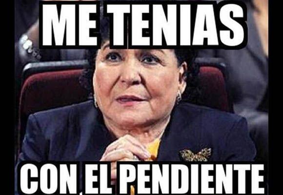 Carmelita ya es toda una celebridad en los memes.