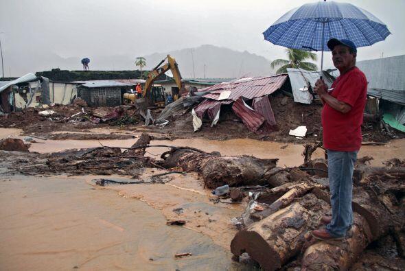Las localidades afectadas son Chepo, Chilibre, Darién y Colón  en la pro...