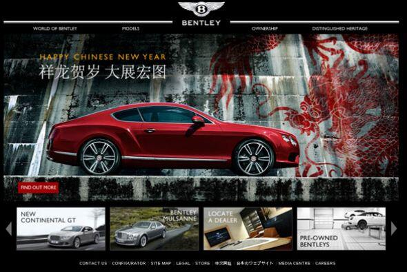 Detrás de Rolls-Royce se encuentran Bentley, Ferrari, Lamborghini, Maser...