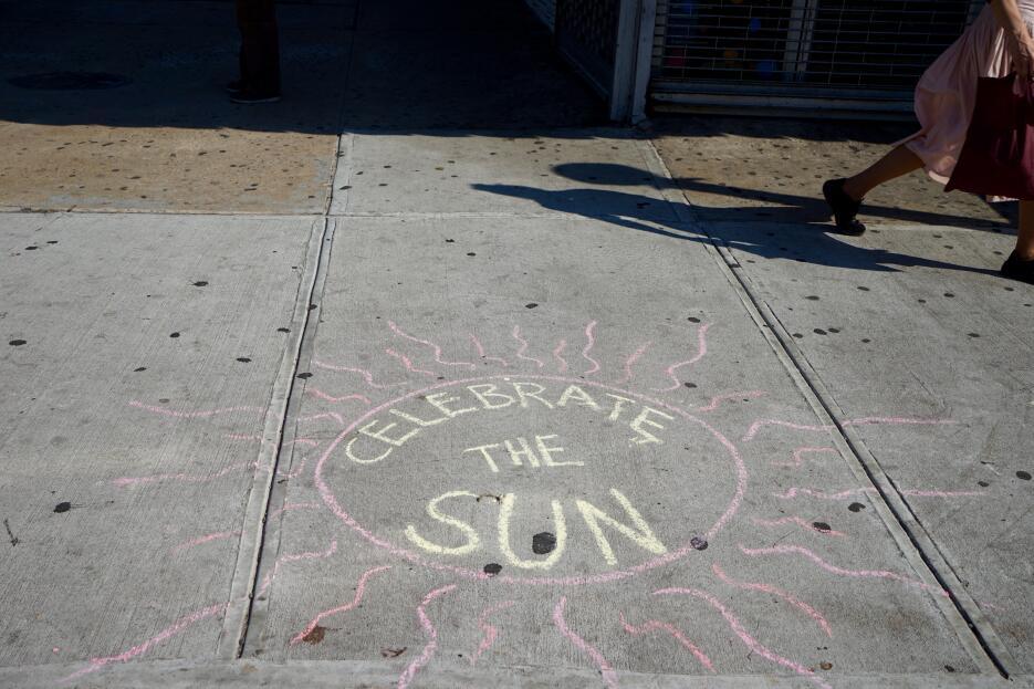 En el Alto Manhattan ya celebran la llegada del verano.