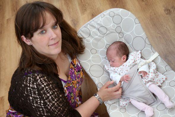 Con tres meses de anticipación, la prematura bebé tuvo que ser hospitali...