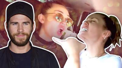 Miley Cyrus no aprende y sigue cayendo en las bromas de su novio Liam Hemsworth