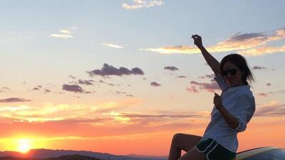 Camila Sodi disfrutó la belleza de Arizona