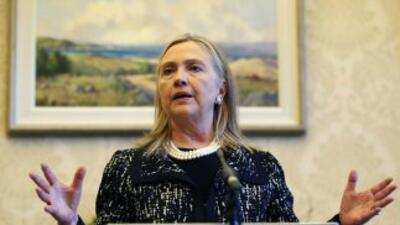 """Clinton, de 65 años, agradeció su buena salud y su """"increíble vigor y en..."""